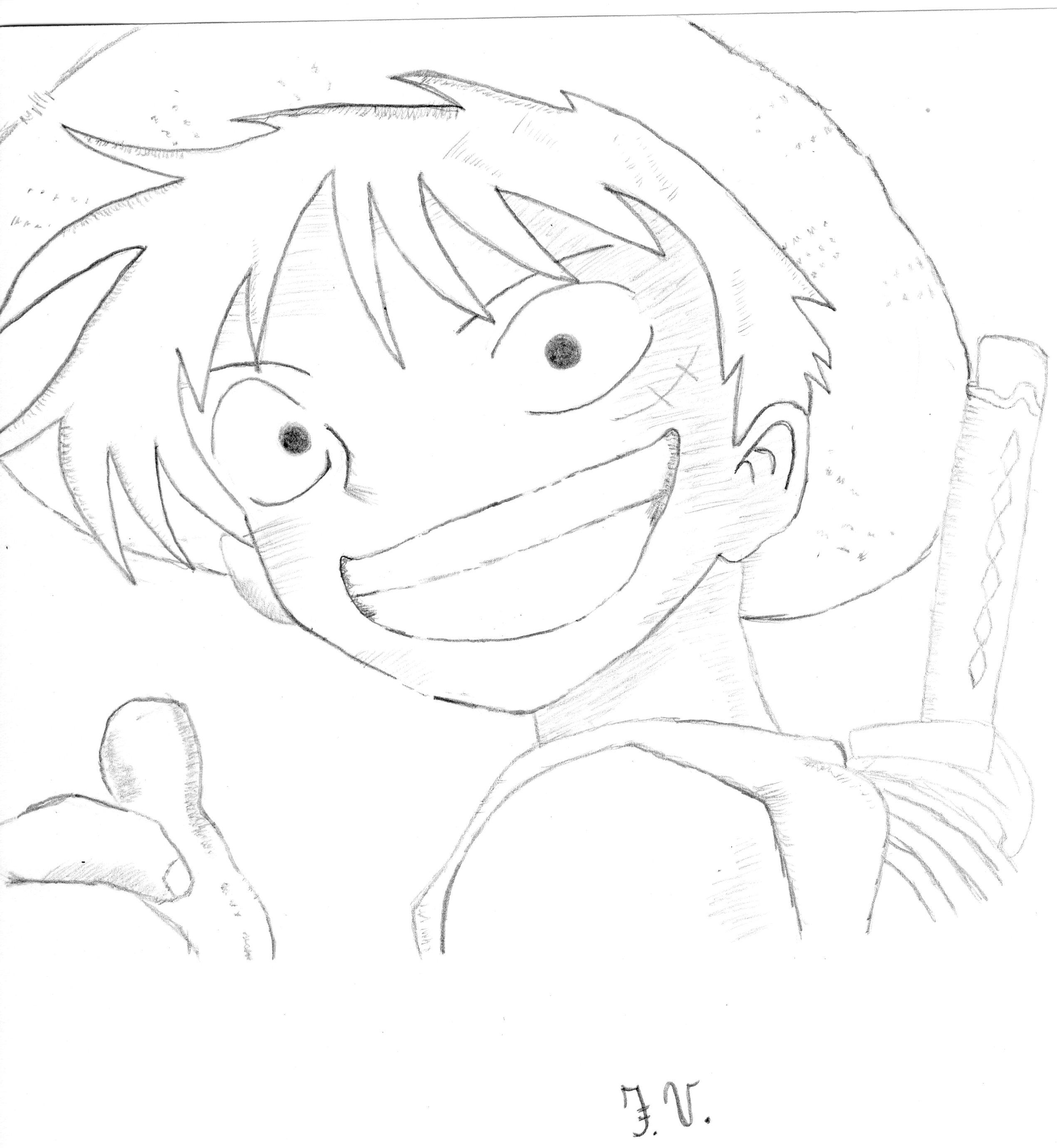 Fresco Disegni Da Colorare Per Adulti Di One Piece Migliori Pagine