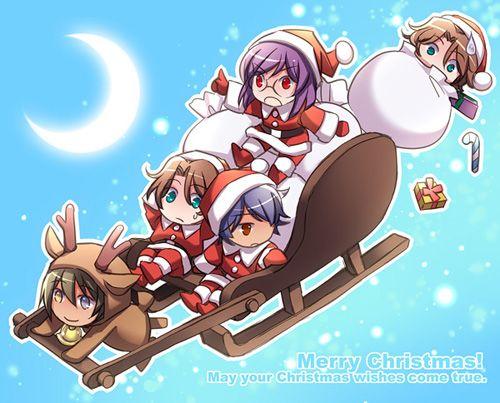Immagini Anime Natalizie.Natale Materiale Di Anime E Manga A Tema