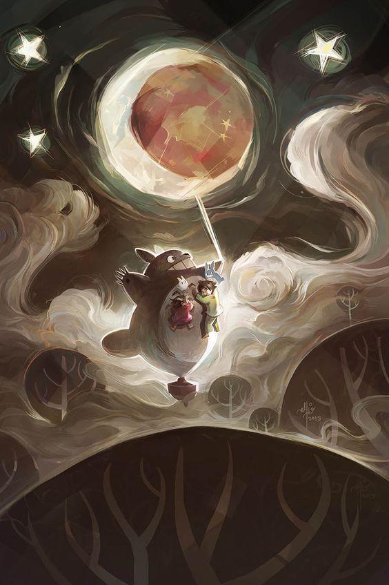 le immagini più belle di anime e manga - totoro