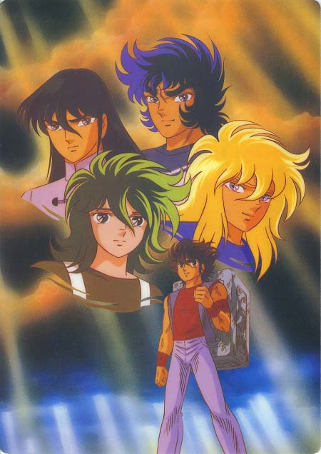 I cavalieri dello zodiaco saint seiya recensione anime manga for Cavalieri dello zodiaco da colorare