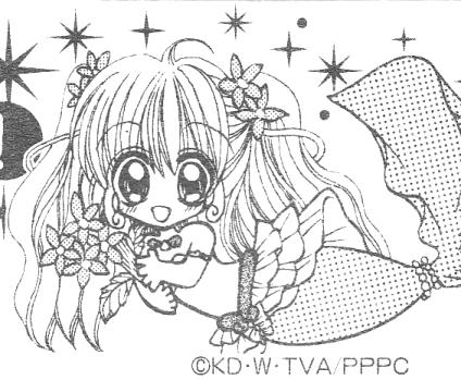Immagini Da Colorare Di Mermaid Melody Principesse Sirene