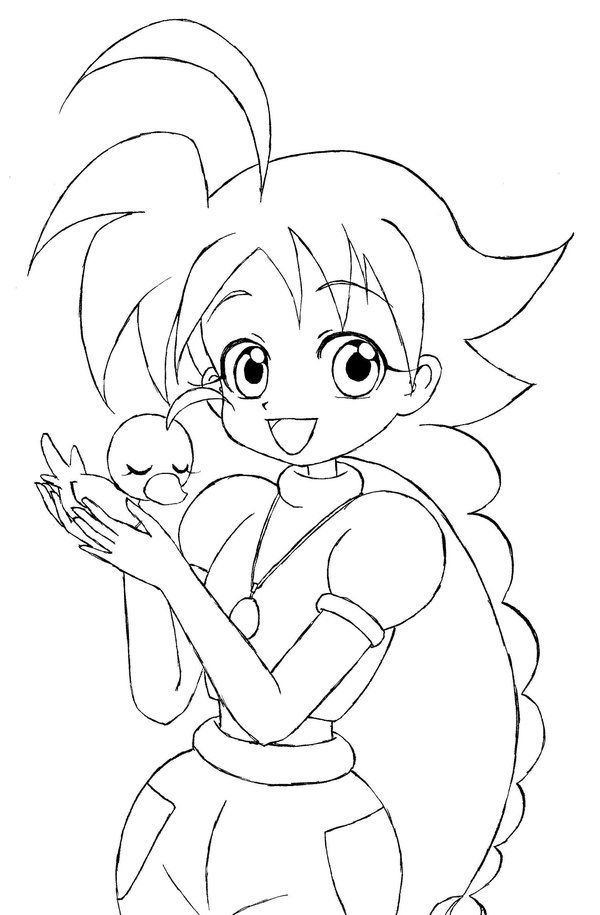coloring pages tutu - photo#18