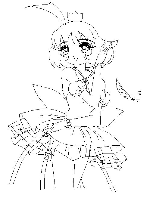 coloring pages tutu - photo#22