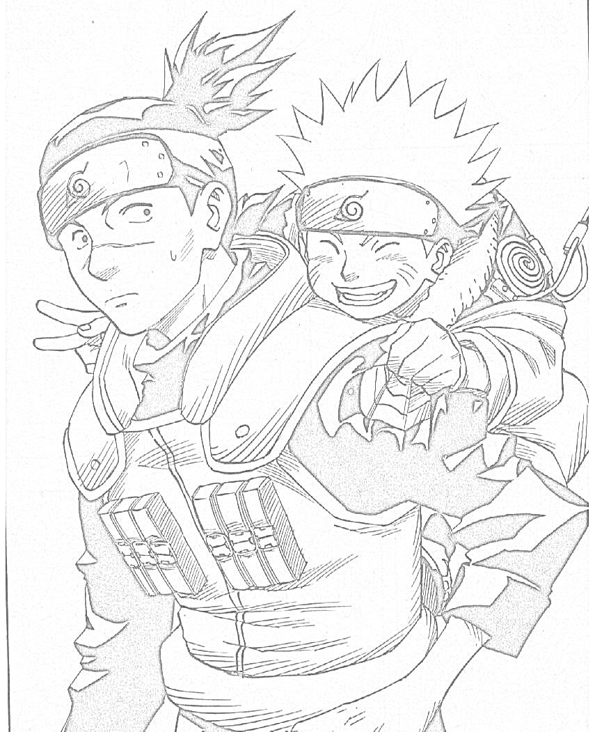 Immagini Da Colorare Di Naruto Topmanga Anime E Manga