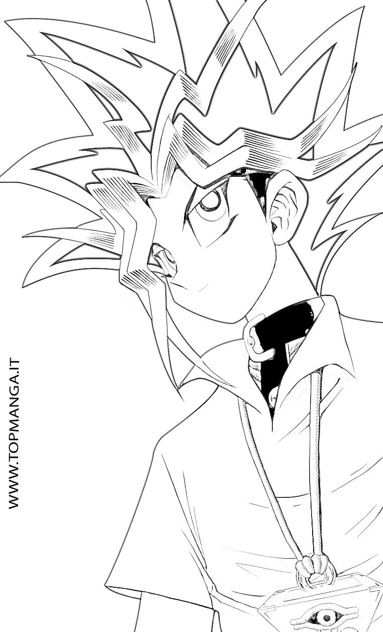 Disegni Da Colorare Yu Gi Ho.Immagini Da Colorare Di Yu Gi Oh Topmanga Anime E Manga