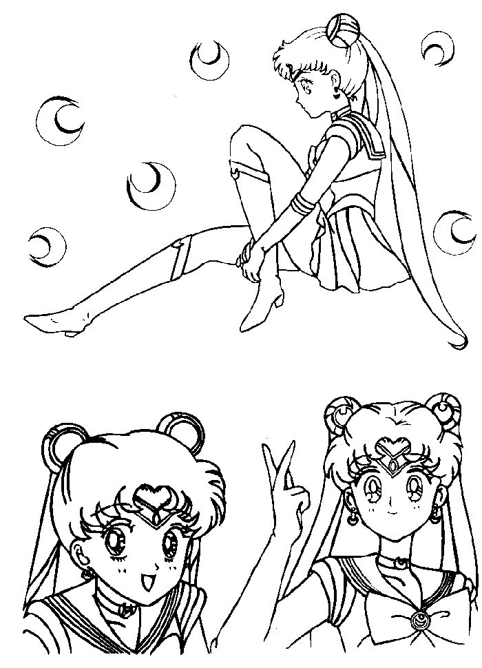 Immagini da colorare di sailor moon topmanga anime for Immagini da stampare di miraculous