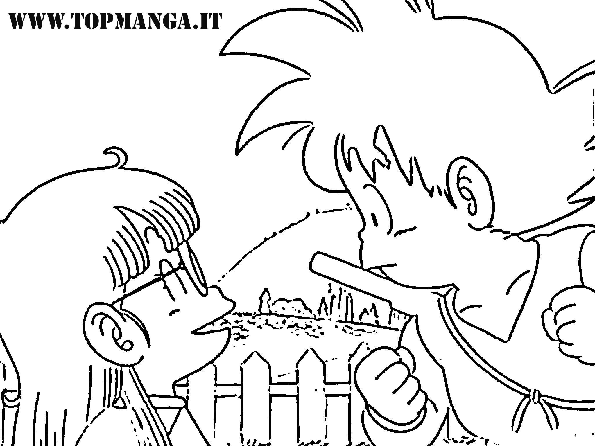 Immagini da colorare di arale anime e manga topmanga for Sito per disegnare