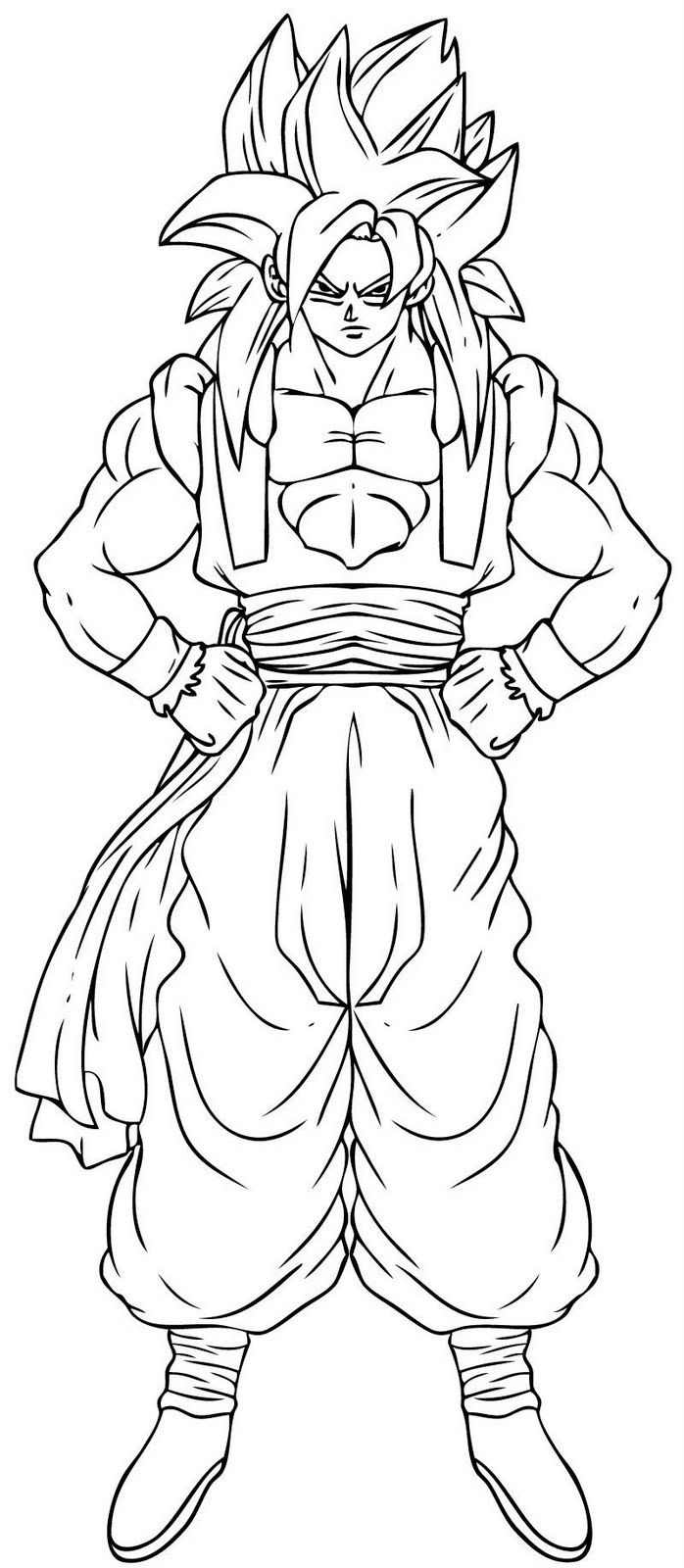 Immagini Da Colorare Di Dragon Ball Topmanga Anime E Manga