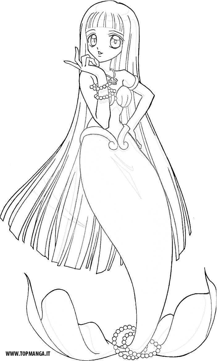 Mermaid melody coloring pages karen