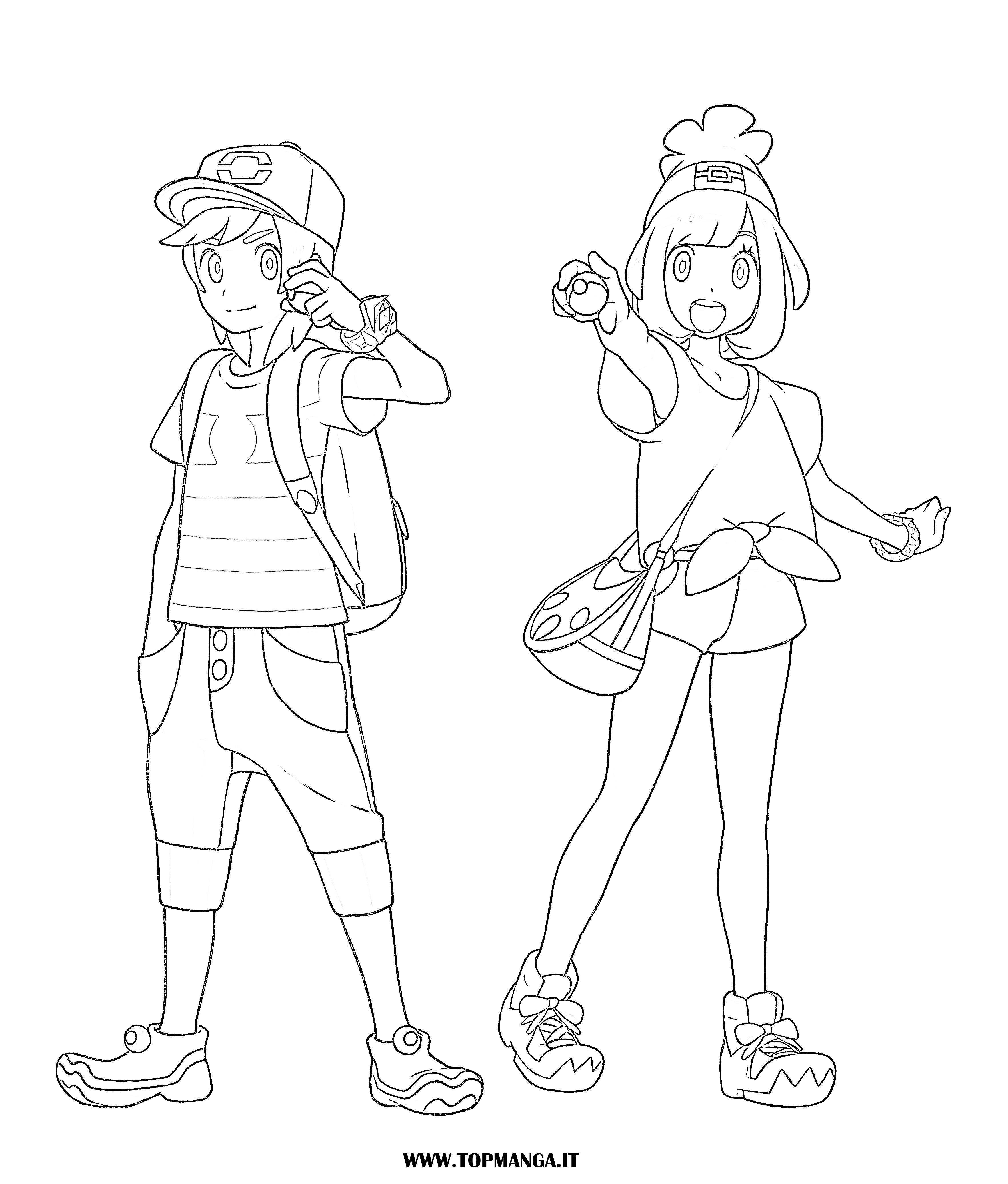 Immagini da colorare di pokemon topmanga anime e manga - Immagini di dinosauro da colorare in ...