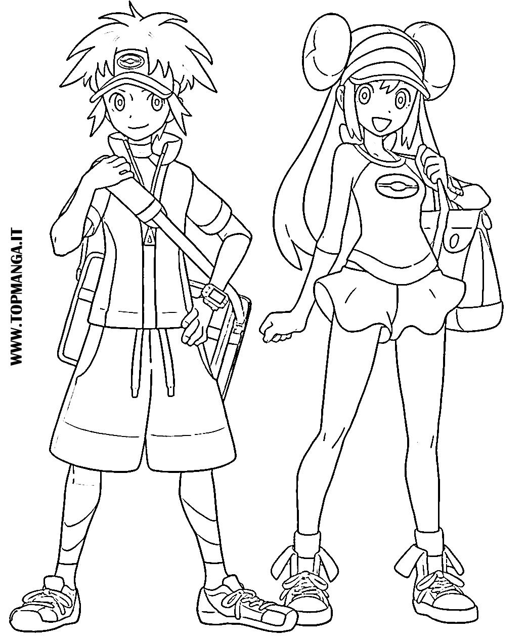 Immagini da colorare di pokemon topmanga anime e manga for Sole disegno da colorare
