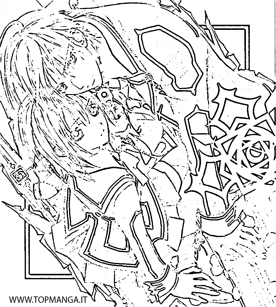 vampire knight zero coloring pages - photo#23