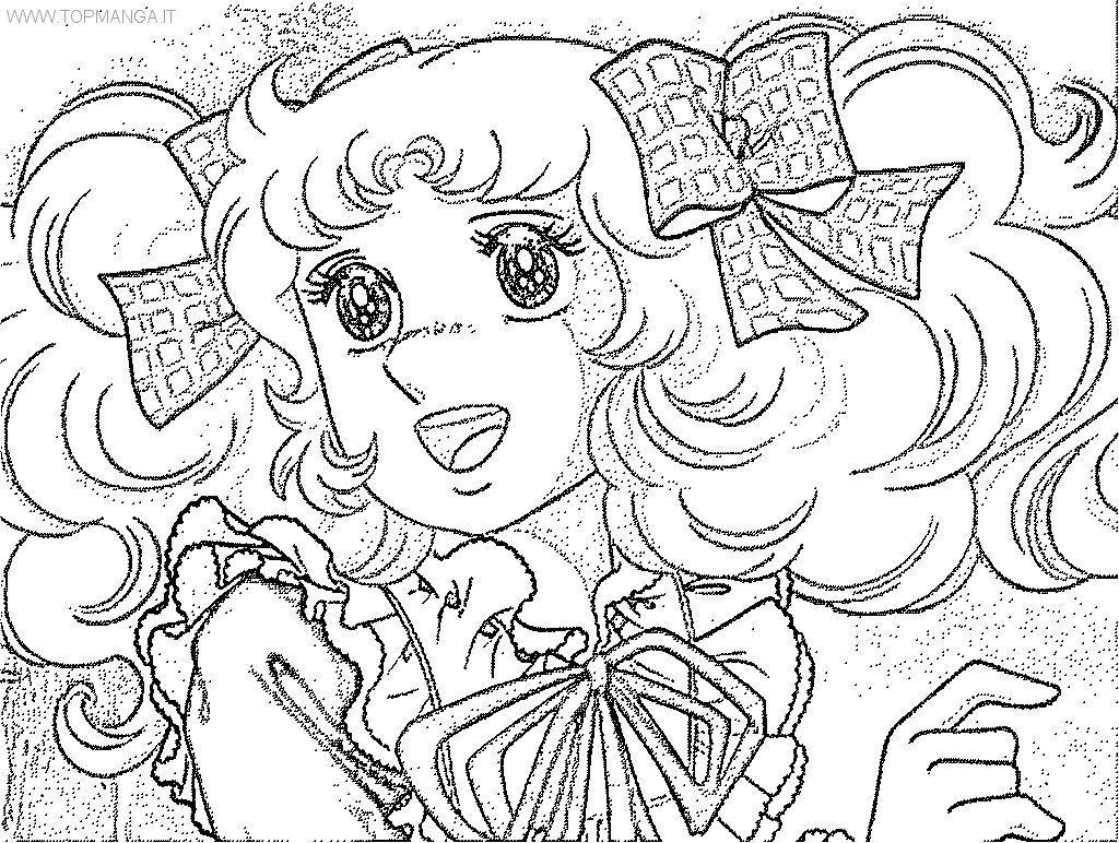 Immagini da colorare di candy candy topmanga - Immagini di pony gratis da stampare ...