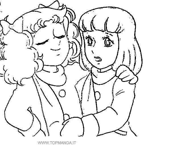 anime candy coloring pages - photo#13
