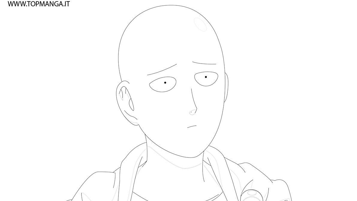 Immagini Da Colorare Di One Punch Man Topmanga Anime E Manga