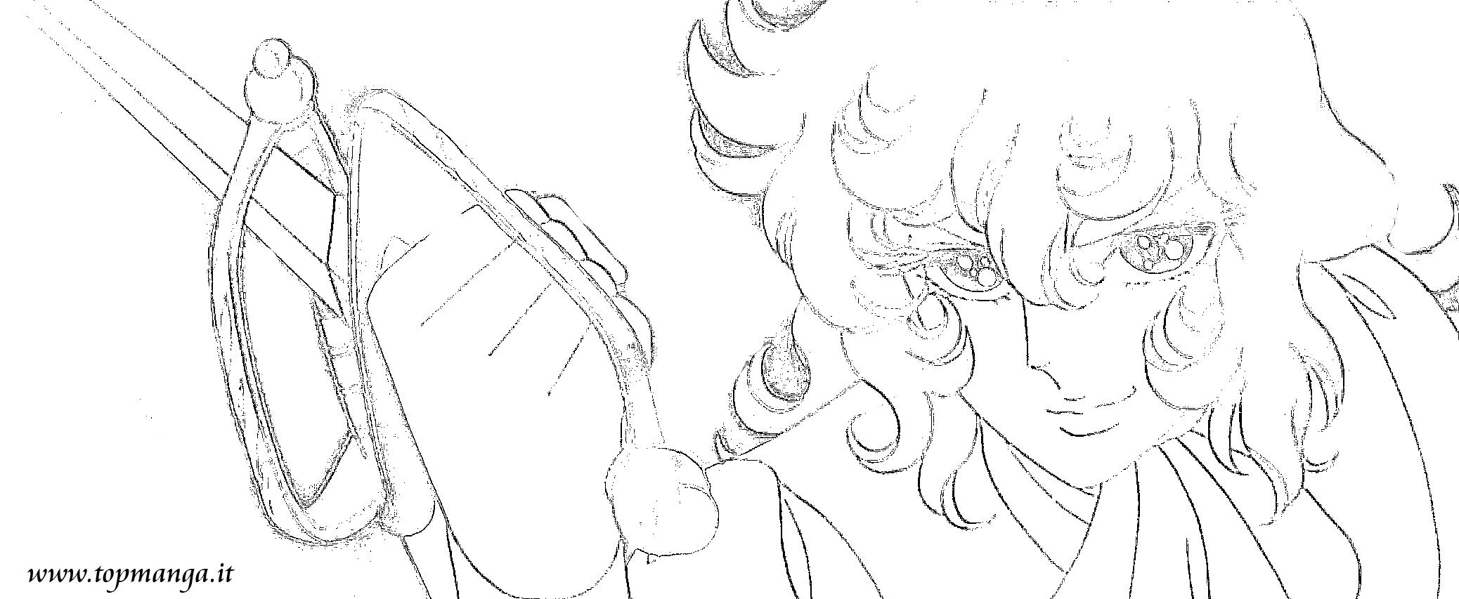 Immagini da colorare di lady oscar topmanga anime - Immagini da colorare di rose ...
