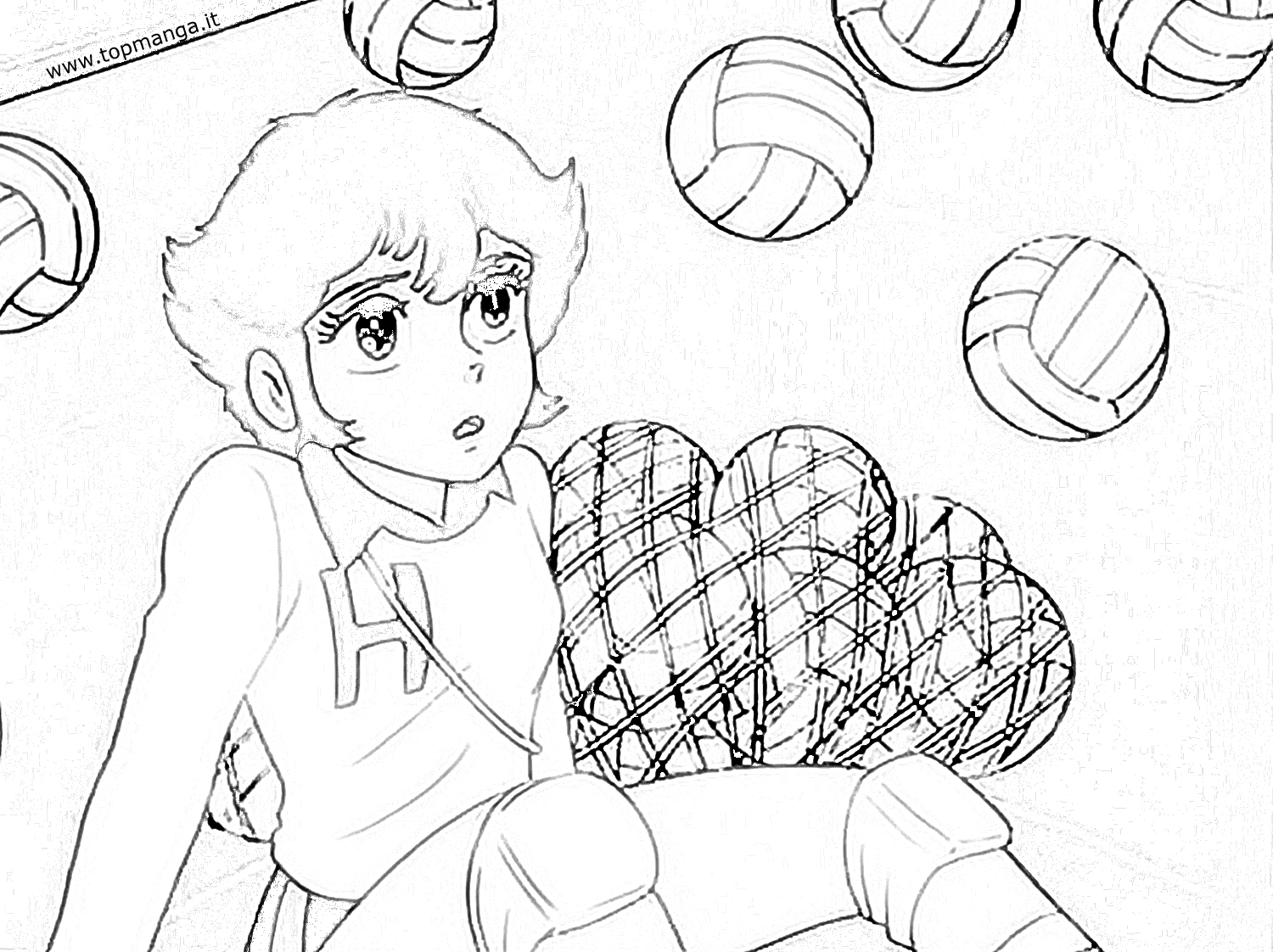 Shiro free coloring pages for Hermie and friends coloring pages