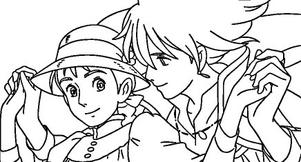 Immagini da colorare di anime e manga topmanga for Cip e ciop immagini da colorare